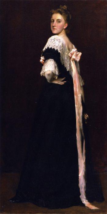 Portrait of Lydia Field Emmet | William Merritt Chase | oil painting