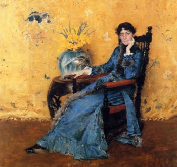 Portrait of Miss Dora Wheeler | William Merritt Chase | oil painting