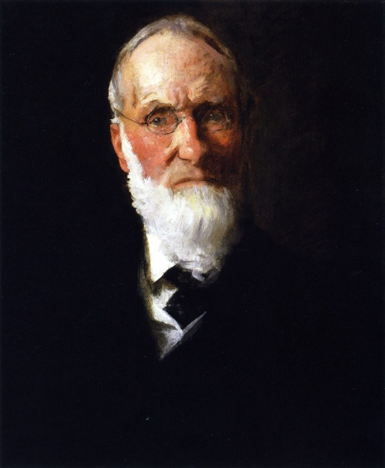 Portrait of My Father | William Merritt Chase | oil painting