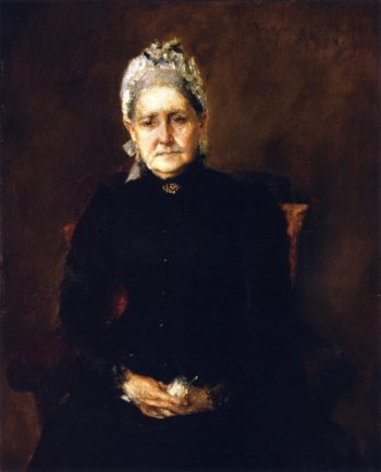 Portrait of My Mother | William Merritt Chase | oil painting