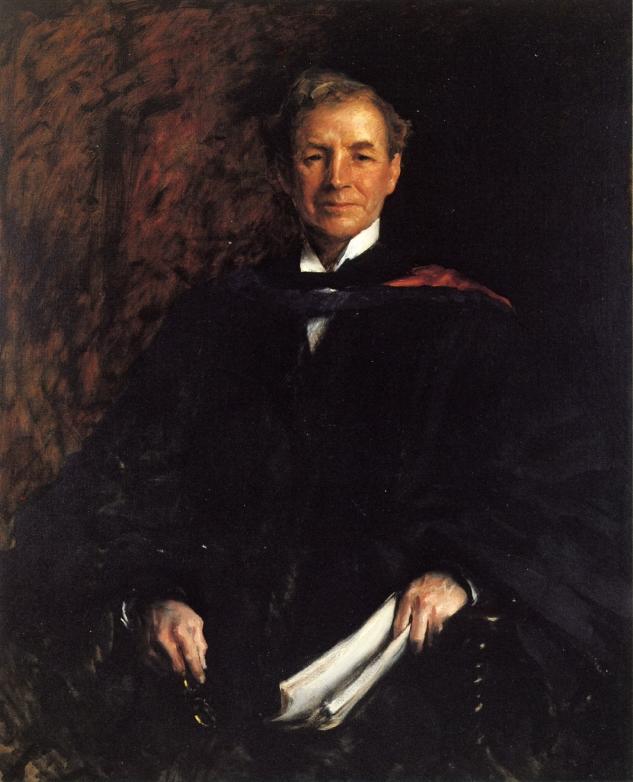 Portrait of President William Waugh Smith | William Merritt Chase | oil painting