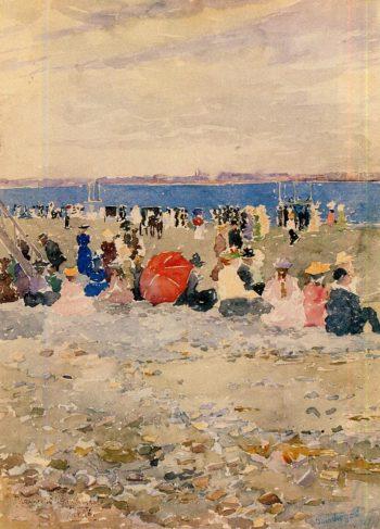 Revere Beach | Maurice Prendergast | oil painting