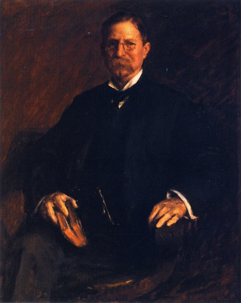 Professor T U Taylor | William Merritt Chase | oil painting