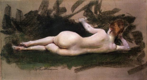 Reclining nude art photography certainly