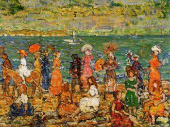 Seashore | Maurice Prendergast | oil painting