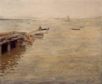 Seashore | William Merritt Chase | oil painting