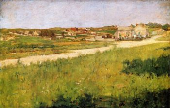 Shinnecock HIlls Landscape | William Merritt Chase | oil painting