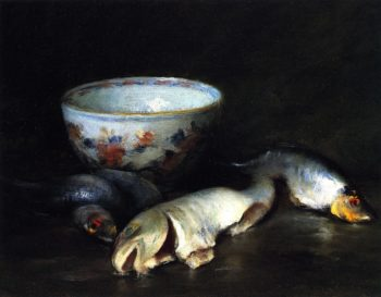 Still LIfe with Fish | William Merritt Chase | oil painting