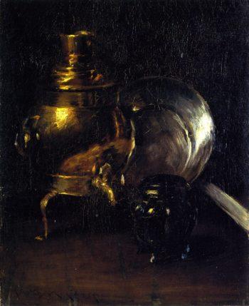 Still LIfe with Samovar | William Merritt Chase | oil painting
