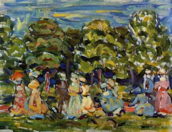 Summer in the Park | Maurice Prendergast | oil painting