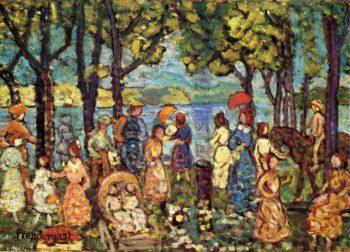 Summer New England | Maurice Prendergast | oil painting