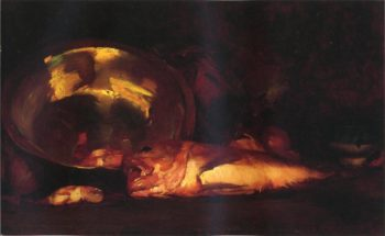 Still Life   William Merritt Chase   oil painting
