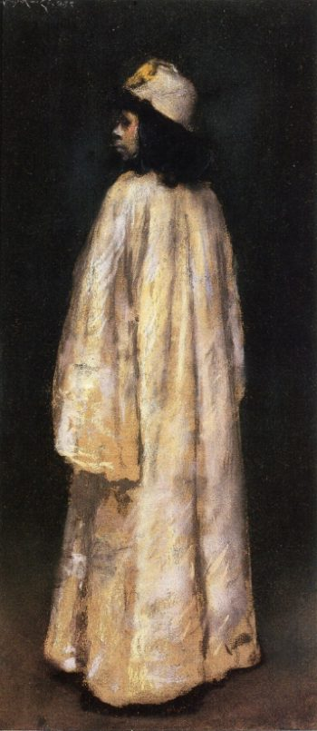 Study of an Arab Girl | William Merritt Chase | oil painting