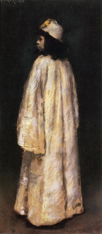 Study of an Arab Girl | William Merritt Chase | oil painting