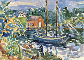 The Cove | Maurice Prendergast | oil painting
