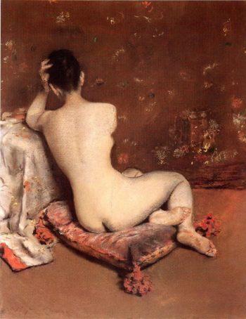 The Model | William Merritt Chase | oil painting