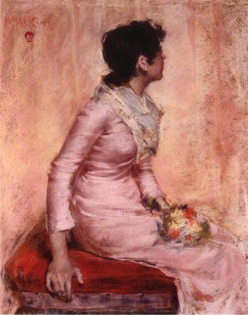 Surprise | William Merritt Chase | oil painting