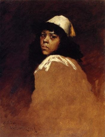 The Moroccan Girl | William Merritt Chase | oil painting