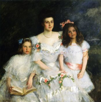 The Mother | William Merritt Chase | oil painting