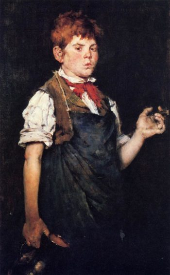 The Apprentice | William Merritt Chase | oil painting