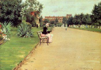 The Park | William Merritt Chase | oil painting