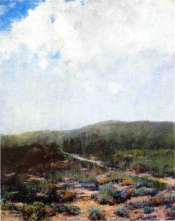 The Shower | William Merritt Chase | oil painting
