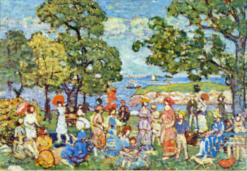 The Promenade | Maurice Prendergast | oil painting