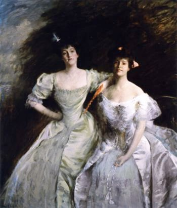 The Sisters | William Merritt Chase | oil painting