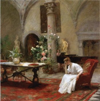 The Song | William Merritt Chase | oil painting