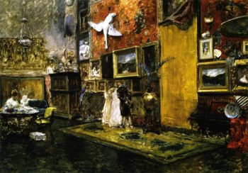 The Tenth Street Studio | William Merritt Chase | oil painting