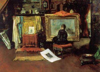 The Tenth Street Studio | William Merritt Chase | oil painting