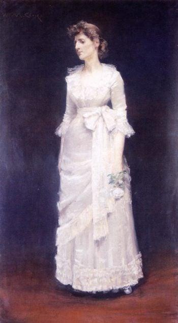 The White Rose | William Merritt Chase | oil painting