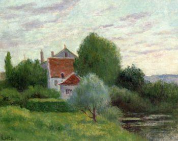 Auvers sur Oise Landscape | Maximilien Luce | oil painting