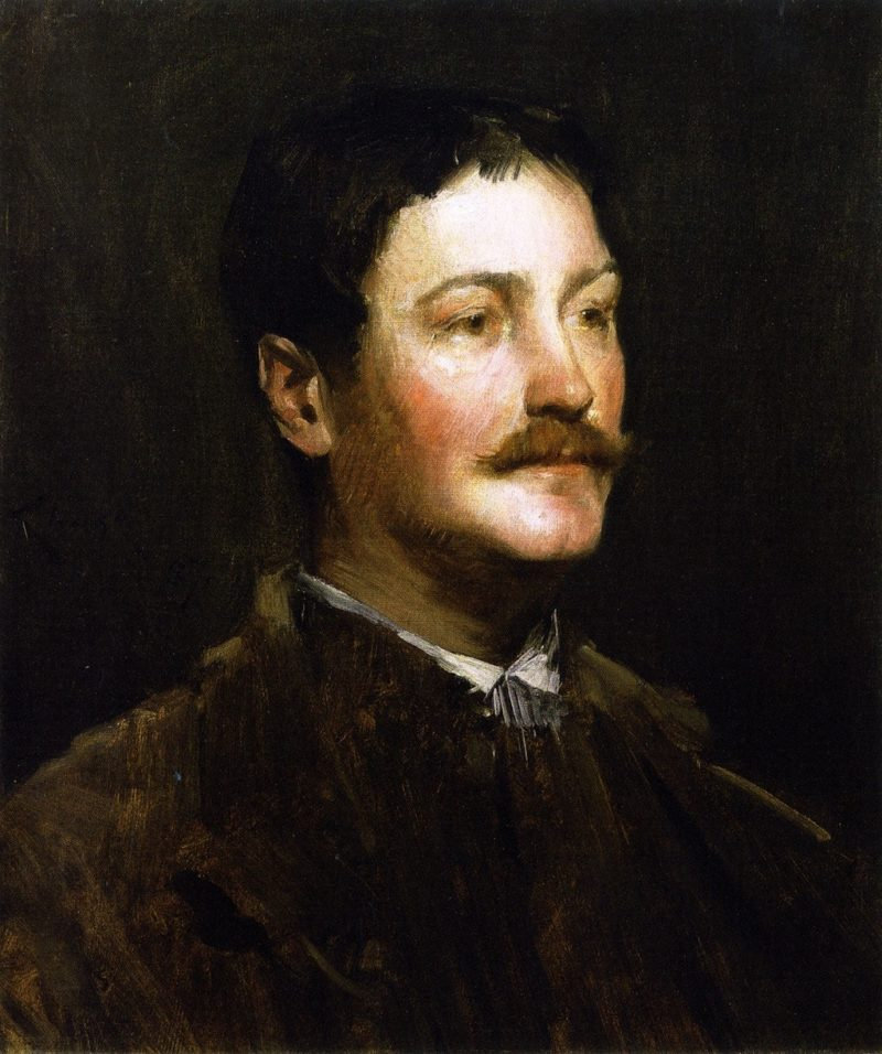 Thomas W Dewing | William Merritt Chase | oil painting