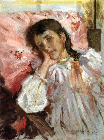 Tired | William Merritt Chase | oil painting
