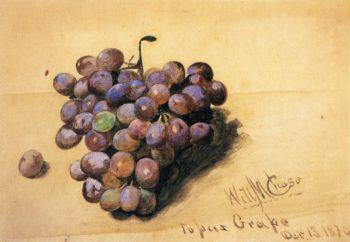 Topaz Grapes | William Merritt Chase | oil painting