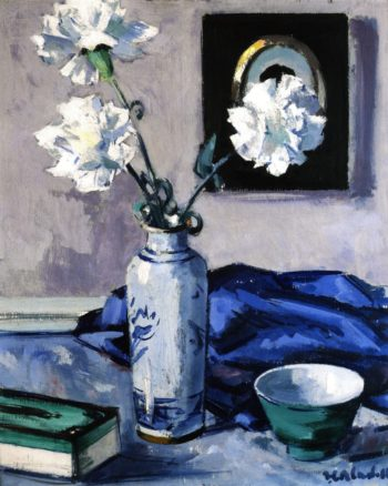 Carnations | Francis Campbell Bolleau | oil painting