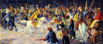 Buffalo Bill | Maximilien Luce | oil painting