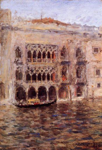 Venice | William Merritt Chase | oil painting