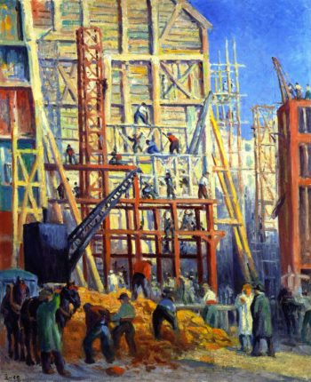 Building Site | Maximilien Luce | oil painting