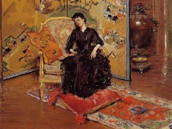 Weary   William Merritt Chase   oil painting