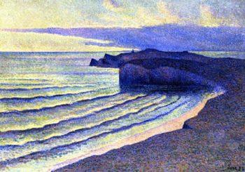 Coastal Scene | Maximilien Luce | oil painting
