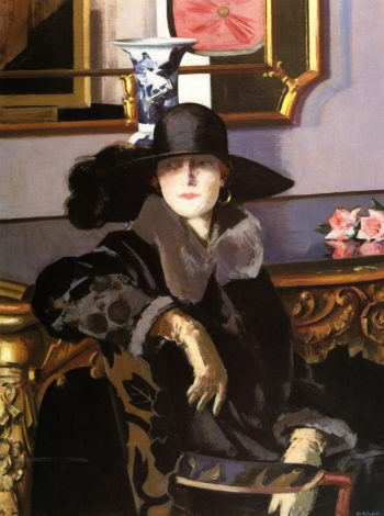 Lady in Black | Francis Campbell Bolleau | oil painting