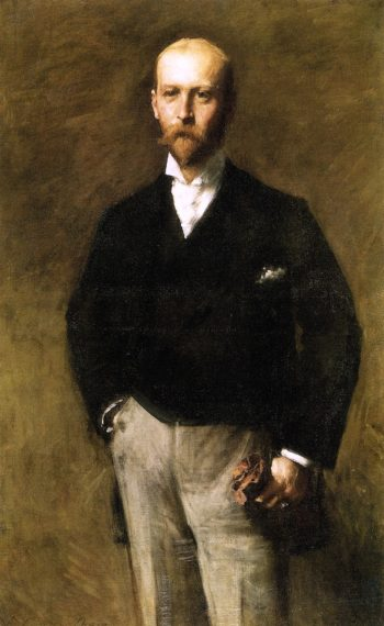 William Charles Le Gendre | William Merritt Chase | oil painting