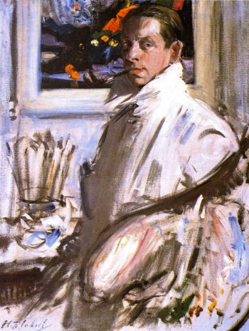 Self Portrait | Francis Campbell Bolleau | oil painting