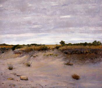 Wind Swept Sands Shinnecock Long Island | William Merritt Chase | oil painting