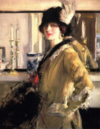 The Black Hat | Francis Campbell Bolleau | oil painting