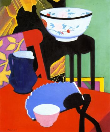 The Blue Fan | Francis Campbell Bolleau | oil painting