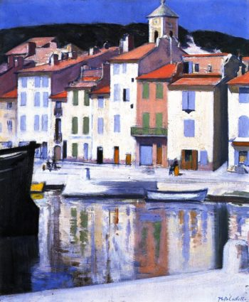 The Harbour Cassis | Francis Campbell Bolleau | oil painting