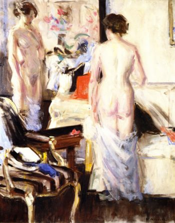 The Model | Francis Campbell Bolleau | oil painting